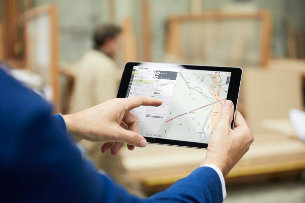 Телематика, webfleet solutions, мониторинг транспорта